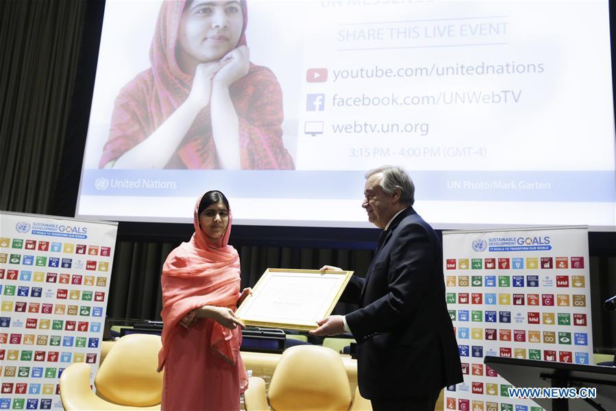 Malala Yousafzai devient une citoyenne d'honneur canadienne