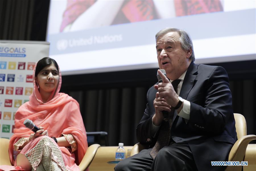 Malala Yousafzai nommée Messagère de la paix de l