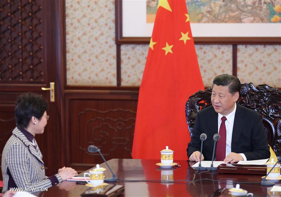 Xi Jinping rencontre la chef de l