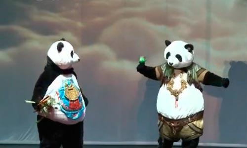 央视网消息:最近,沈阳杂技团创作的《熊猫寻梦之旅》大型杂技儿童