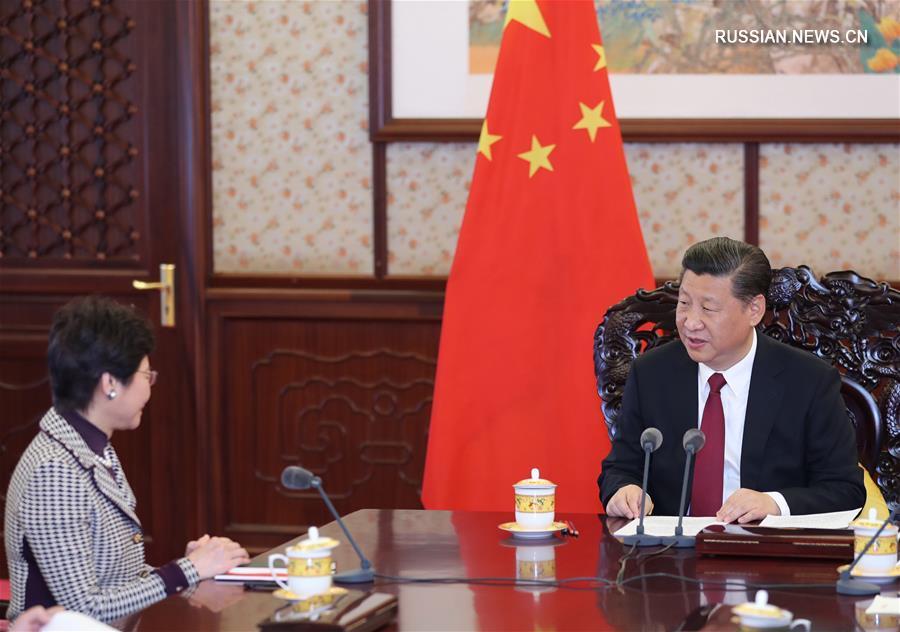 Си Цзиньпин: центральное правительство КНР будет всемерно поддерживать работу администрации нового созыва САР Сянган.