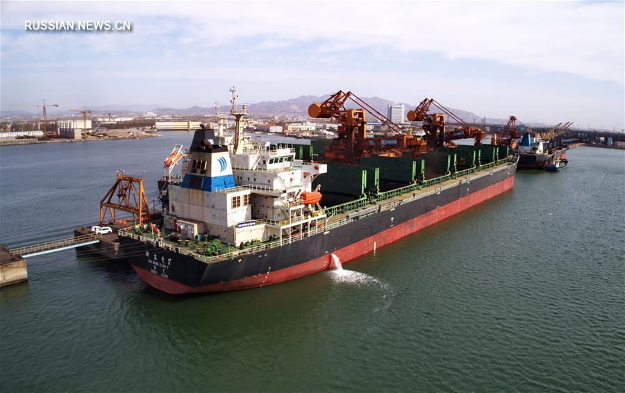 Грузооборот компании Hebei Port Group в первом квартале 2017 года составил 91,85 млн тонн