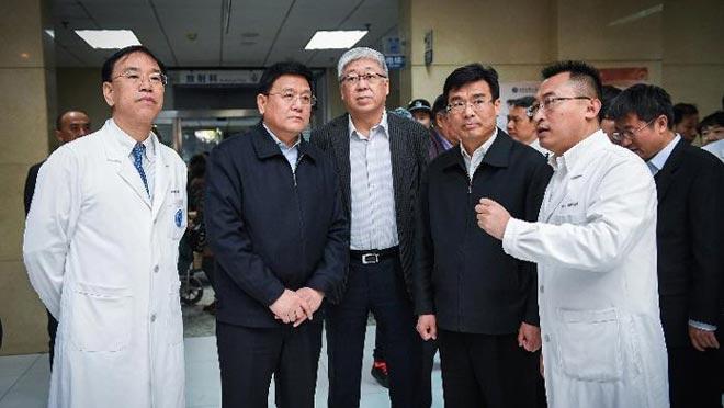 王贺胜副主任在北京儿童医院召开北京医药分开改革座谈会