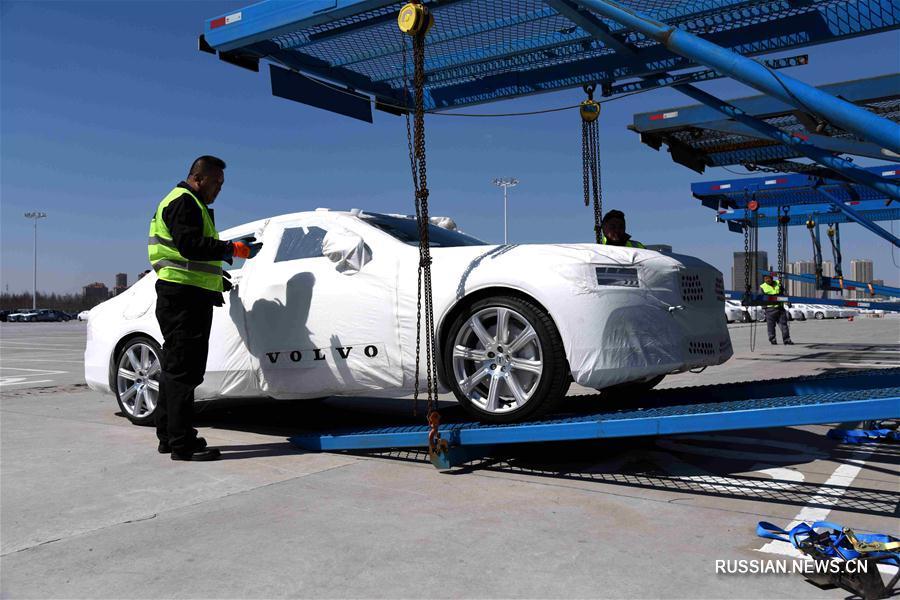 Высокотехнологичные легковые автомобили китайской сборки впервые экспортируются в США