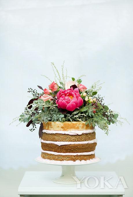 香草水果单层裸蛋糕