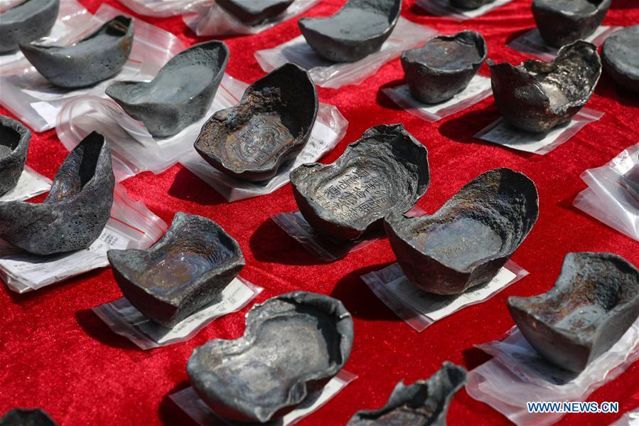 La Chine récupère des trésors sous-marins appartenant au dirigeant d