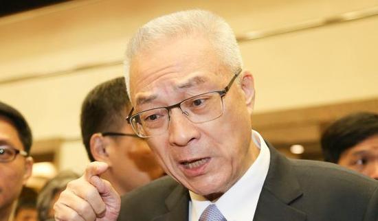 国民党主席参选人、前台湾地区副领导人吴敦义。(图片来源于网络)