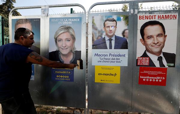 Dernière semaine de campagne pour les candidats à la présidentielle