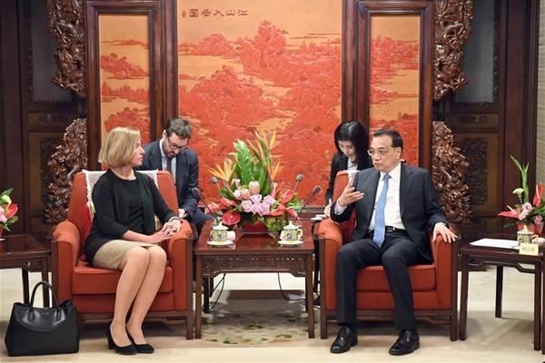 رئيس مجلس الدولة: الصين تأمل فى وجود اتحاد اوروبى متحد و مستقر ومزدهر