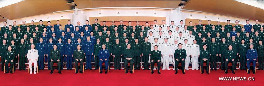 La Chine remanie 84 unités militaires du niveau de corps