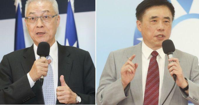 国民党员支持度中,以前台湾地区副领导人吴敦义获支持度最高,党副主席郝龙斌居次。