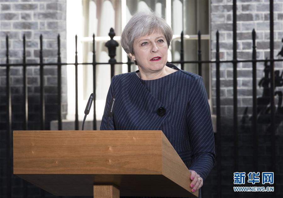Theresa May convoca elecciones generales anticipadas para el 8 de junio