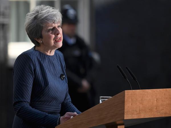 La Première ministre demande des élections anticipées le 8 juin