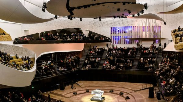 爱乐音乐厅里三个大型音乐厅,一间音乐博物馆以及其他附属建筑的上座率都超过了93%