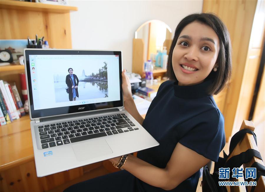 Une étudiante thaïlandaise souhaite réaliser son rêve professionnel en Chine