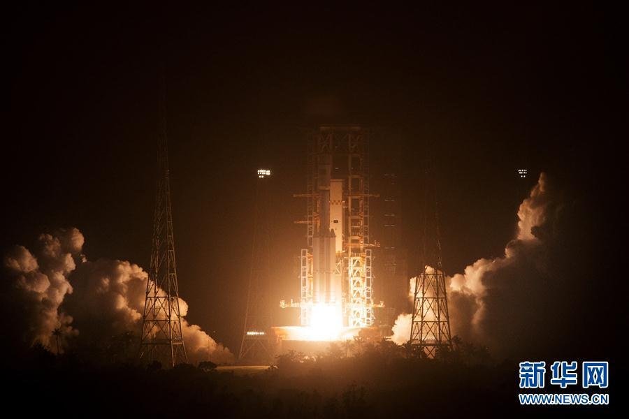 Se encuentra en órbita la nave espacial robótica de carga Tianzhou 1