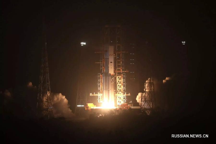 Первый китайский грузовой космический корабль «Тяньчжоу-1» запущен на орбиту с космодрома Вэньчан