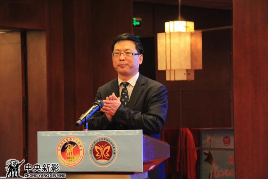 潍坊峡山区党工委副书记、管委会主任李华刚主持