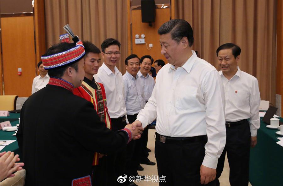 Presidente chino visita la ciudad de Beihai en Guangxi