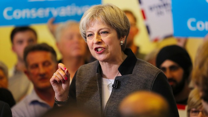 May: June snap election