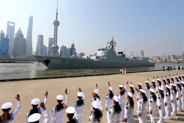 أسطول البحرية الصينية يبدأ زيارات صداقة لنصف سنة