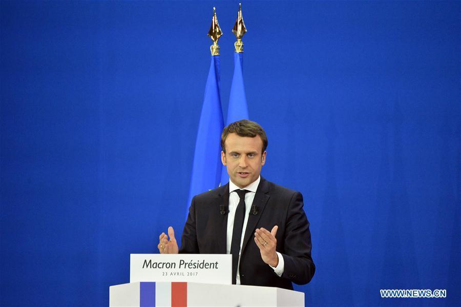 France/présidentielle : Macron et le Pen en tête du premier tour (médias)