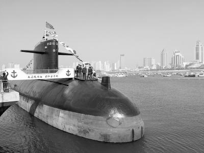 中国自主研发的第一艘核潜艇,退役后于本月23日起对公众开放。