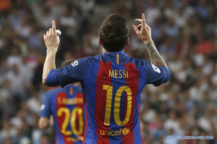 Fútbol: Barcelona vence 3-2 al Real Madrid en clásico español