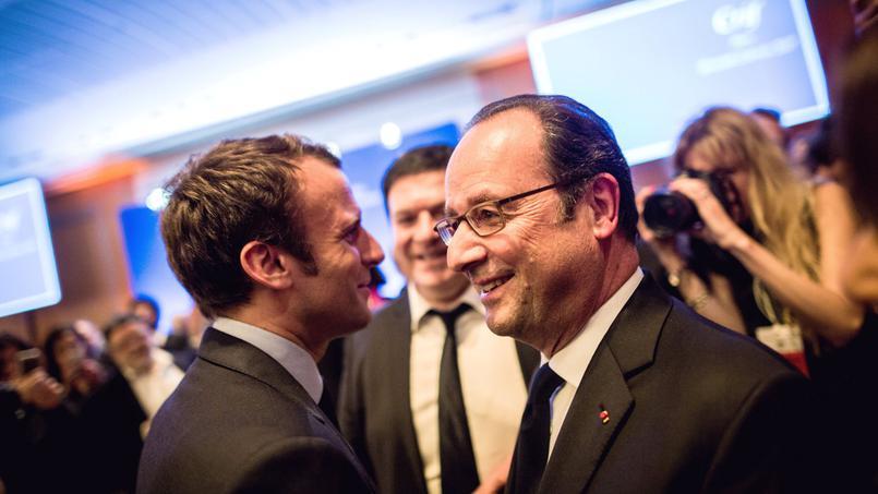 Hollande appelle les Français à voter Macron