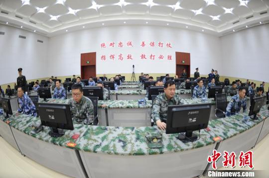 东部战区组织参谋业务高手比武竞赛锤炼指挥本领