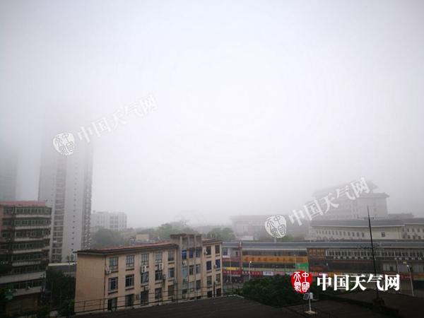 今天广西雨势加强 玉林桂林等市局地大暴雨