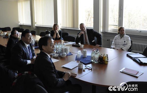 """2015年10月""""海上中医""""德国中心营运及技术方案讨论"""