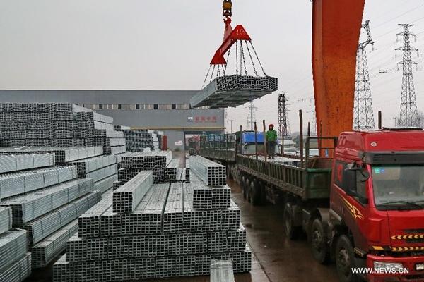 4.6% زيادة في إنتاج الصلب الخام الصيني بالربع الأول