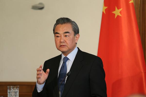 Le ministre chinois des Affaires étrangères demande l