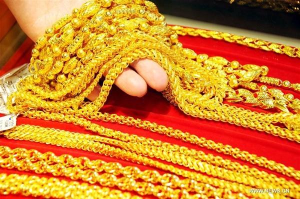 ارتفاع استهلاك الذهب في الصين في الربع الأول