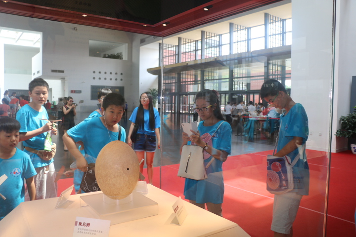 Students from across the country join a science field trip at China Science and Technology Museum in the summer of 2015.