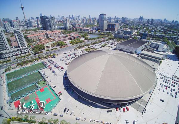 天津职业材质有体育馆cad标注大学图片