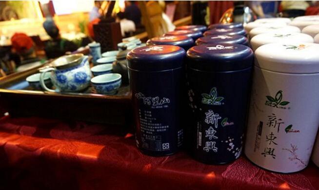 阿里山的茶叶。(中国台湾网 高斯斯 摄)