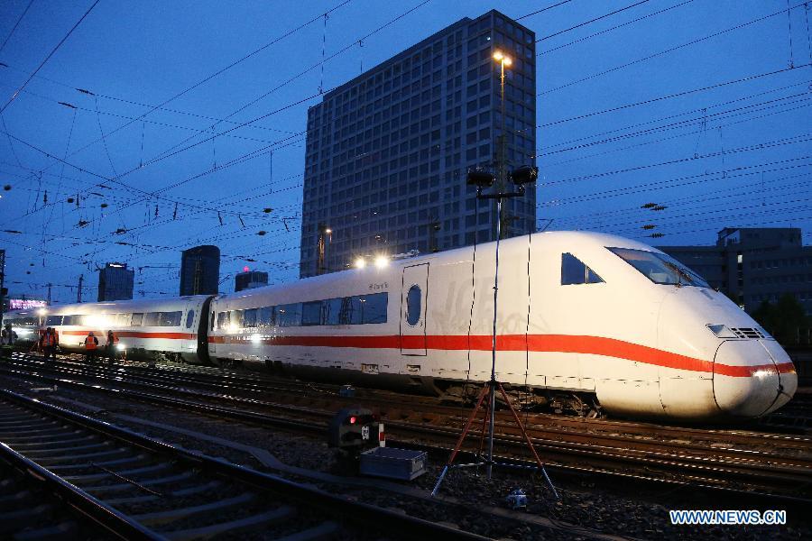 Allemagne : 2 blessés légers dans le déraillement d