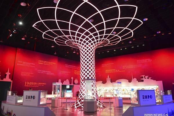 افتتاح متحف اكسبو العالمي للجمهور فى شانغهاي