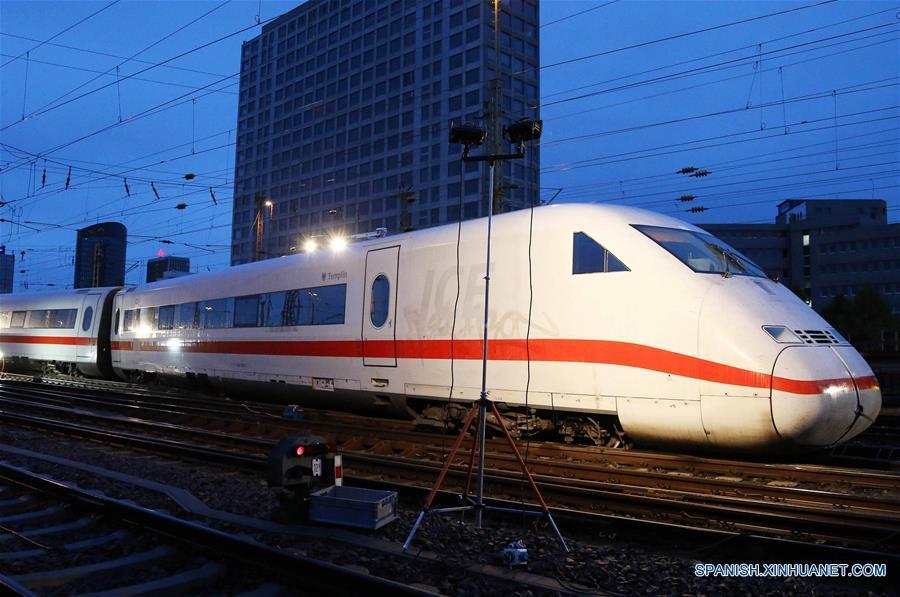 Descarrila tren de alta velocidad en Alemania