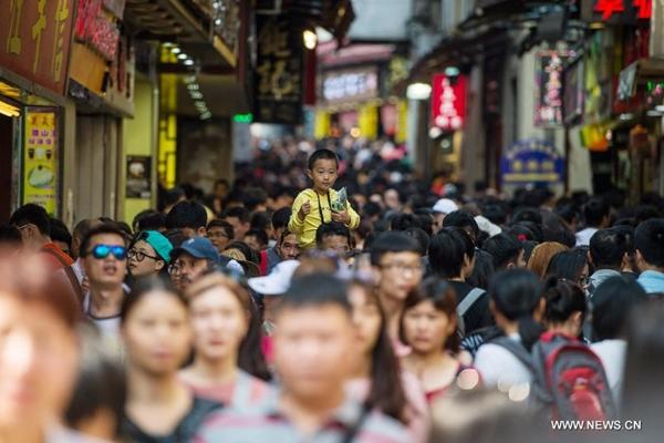 375 ألف سائح فى ماكاو خلال عطلة عيد العمال