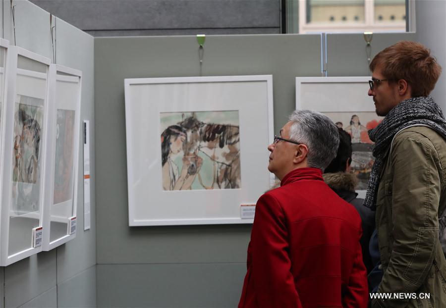Bruxelles : exposition des Bandes dessinées des mythes chinois sur les origines du monde