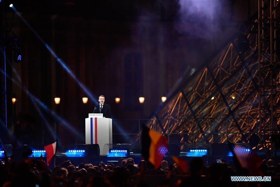 France/présidentielle : Emmanuel Macron est élu président de la République
