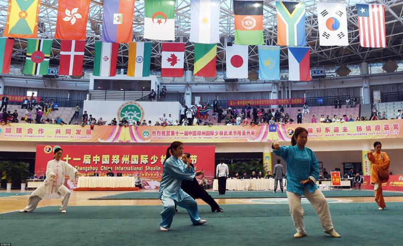 Les étrangers qui s'attachent au kung-fu chinois
