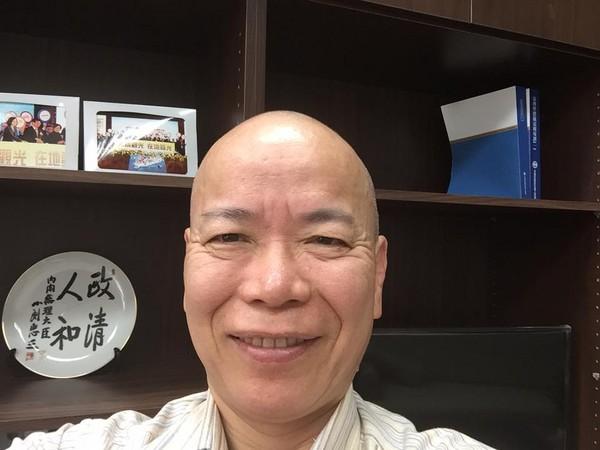 """张景森。(图片来源:台湾""""东森新闻云"""")"""