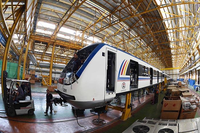 Des entreprises chinoises vont renforcer le réseau de métro iranien