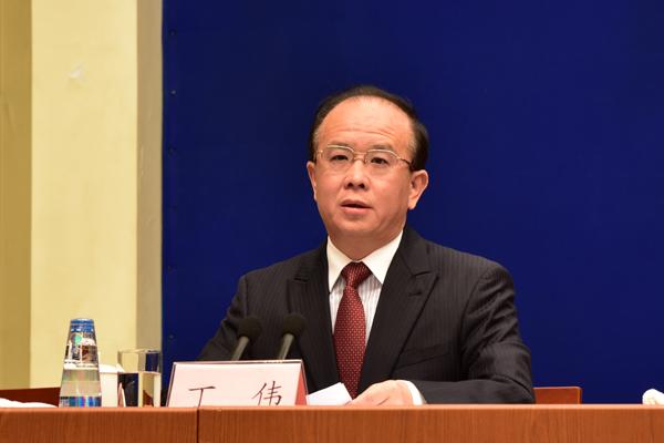 Vice Minister of Culture Ding Wei [Photo by Zhang Xingjian/chinadaily.com.cn]