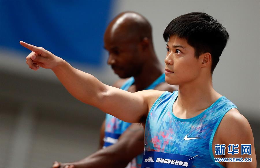 Chinese national record holder Su, who boasts a career best of 9.99 seconds, sprinted to a season best of 10.09s to seal the gold, becoming the first Chinese to win the event at an IAAF Diamond League meeting.