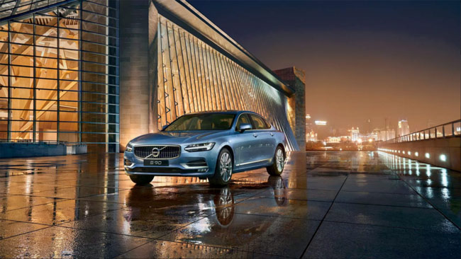 A China-made Volvo S90 model. [File Photo: volvocars.com]